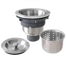 Gzila 3 12 Inch Kitchen Sink Strainer With Deep Waste Basket