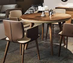 luxury retro style round dining room tables