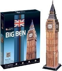 3D пазл <b>CubicFun</b> Великобритания. <b>Биг Бен</b> (C094h) — купить в ...