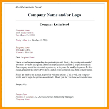 Printable Letterhead Template Word 01. Business Letter Format ...