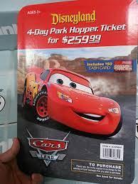 Costco discounted Disneyland tickets ...