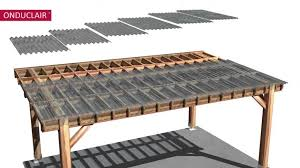 astonishing material for home interior decor with clear corrugated roof panels wonderful pergola with clear roof i18