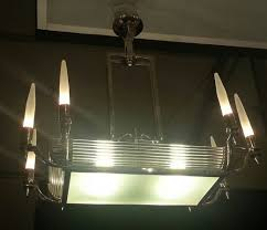 art deco lighting art deco chandelier item 1291
