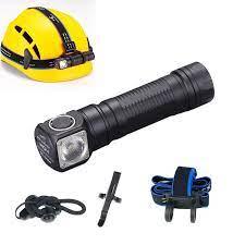 SKILHUNT LED el feneri, H04 serisi hafif kafa lambası, USB manyetik şarj  edilebilir kafa lambası, kolay klip koşu çalışma|LED Fenerler