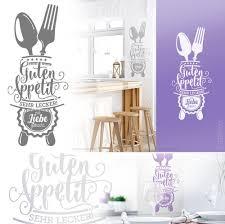 Wandtattoo Guten Appetit Für Küche Esszimmer Cafe