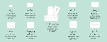 Standard Greeting Card Size Chart Awesome The Best Envelope