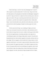 ap us history essay significance of the frontier in american 3 pages ap us history essay letter from a birmingham jail