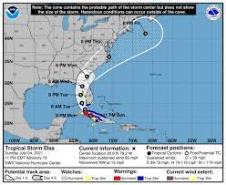 Tropical Storm Elsa 2021 stays on path ...