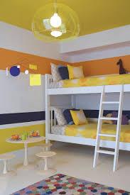 ... Bright Modern Kidsu0027 Room In Yellow, Blue And Orange [Design: Amy Lau
