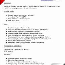 Technical Skills Cv Cv Baby Sitting Simple 25 Sample Technical Skills For Resume