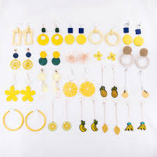Fashion <b>New Women Earrings Creative</b> Women Accessories ...