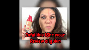 18hr wear infallible advanced never fail foundation review