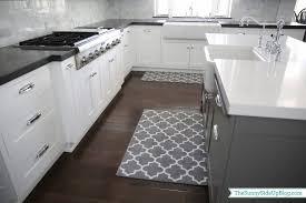 kitchen best white and grey moroccan trellis kitchen rug for wihte kitchen kitchen runner