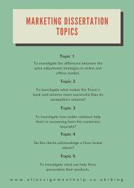 best dissertation topics on different subjects dissertation topics