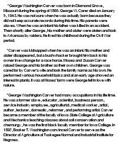 george washington carver at com essay on george washington carver