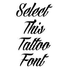 graffiti tattoo font creator font