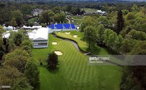 2018 bmw wentworth. perfect bmw views of the new par 5 18th hole and tournament infastructure on  recently intended 2018 bmw wentworth