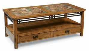 Coffee Table Design Ideas brown rectangle traditional tile coffee table design ideas to complete your living room decoration