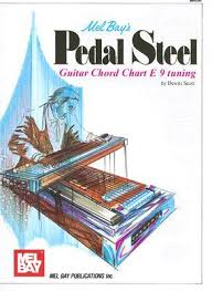 Mel Bays Pedal Steel Guitar Chord Chart E 9 Tuning By