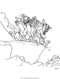 Disegno Releone123 Personaggio Cartone Animato Da Colorare