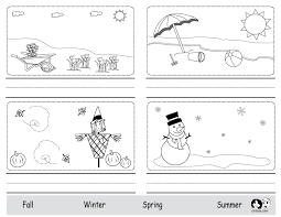 Image result for four seasons preschool worksheets | ALEXANDER ...