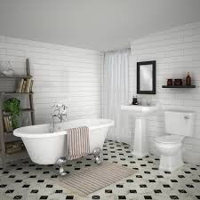 the grosvenor white bathroom suite is a great example of a classic traditional space victorian