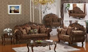 Traditional Furniture Living Room 681 Sheraton Traditional Living Room Set In Cherry By Meridian