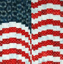 Free Quilt Pattern: Firework Flag | June/July 2013 | Quilters ... & Enlarge photo. Adamdwight.com