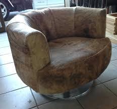 black microfiber round swivel chair sofa architects fancy furniture info