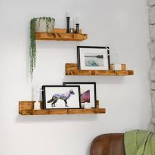Floating Shelf, Set of 3, 3 FT Long