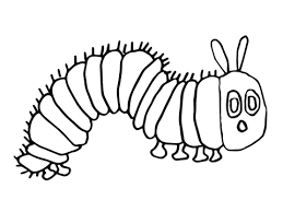 caterpillar coloring page. Unique Page Hungry Caterpillar Coloring Page With Coloring Page