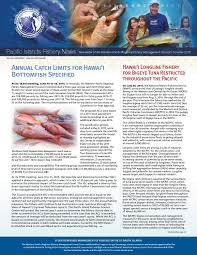 Samoan Fish Chart Summer 2015 Pacific Islands Fishery News By Western Pacific