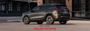 2019 Gmc Yukon Color Chart How Many Paint Color Choices Are There For The 2019 Gmc Terrain