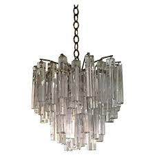 camer glass chandelier glass clear crystal pendant chandelier signed for camer glass chandelier 1stdibs camer glass chandelier