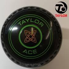 Taylor Vector Bowls Bias Chart Taylor Ace Bowls Progrip Various Emblems Ring Colours Available