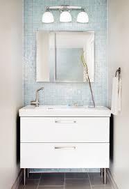 small modern bathroom. Fetching Image Of Bathroom Decoration Using Wall Ikea Cabinet : Killer Small Modern Design