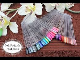Gelish Shellac Other Gel Polish Swatches 77 Colours Part One