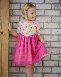 Toddler Dress Patterns Custom Willow's V Shaped Bodice Top And Dress The Simple Life Pattern Company