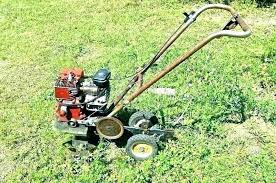rear tine garden tillers hand held lawn aerator home depot al garden tiller rear tine rototillers