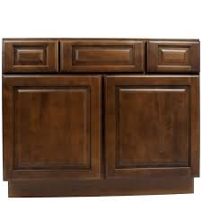 Vanity Cabinets For Bathroom 42 Inch Dark Maple Juniper Chestnut Bathroom Vanity Cabinet