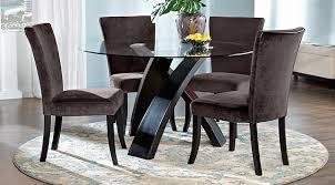 black dining room sets round. Black Dining Room Sets Round I