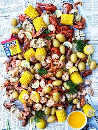 southern low country boil with cajun