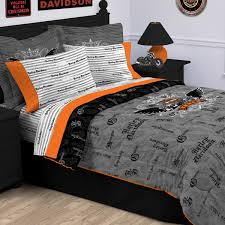 harley davidson bedroom decor yahoo search results brady s pertaining to duvet set inspirations 1