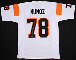 Anthony Hof Bengals Jsa Cincinnati 98 Full - coa Signed 00 Picclick Stats Munoz Jersey 250 ccdfdcecfab|The Patriots Don't Need Antonio Brown, Which Makes It A Gamble Worth Taking