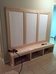 Beadboard Entryway Coat Rack mudroom bench and coat rack Mudroom Bench Tips and Ideas for Your 37