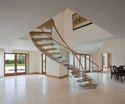 Floating Stairs Wood TWE-525 by EeStairs | Wood stairs ...