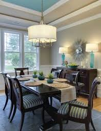 guest ger angela crittenden of teal interior design house of turquoise dining room