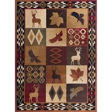 5 x 7 medium red brown and tan area rug nature rc willey furniture