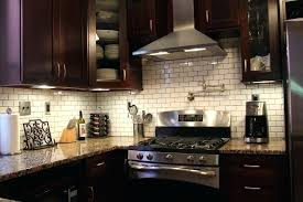 kitchen backsplash cherry cabinets black counter. Dark Granite Countertops Backsplash Ideas Kitchen Cherry Cabinets Black Counter E