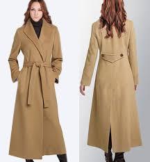 women s long trench coat
